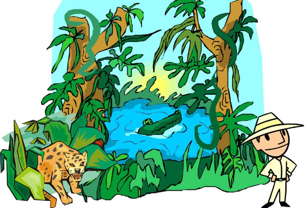 junglemysteriet skattejagt børn