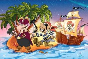 skattejagt piratmysteriet